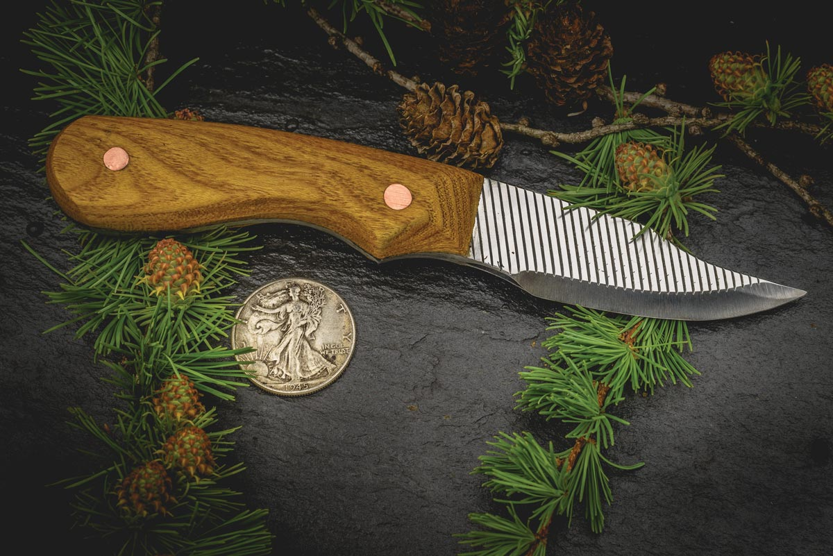 White Mulberry Handle and Farrier Rasp Blade